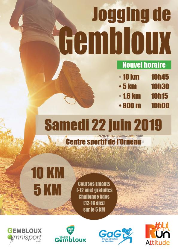 Affiche Jogging de Gembloux